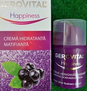 Pareri Gerovital Happiness crema hidratanta matifianta
