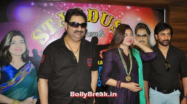 Kumar Sanu, Alka Yagnik and Rajiv Paul, Alka Yagnik Latest Images from Stardust`s London Concert