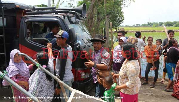 rumah warga indramayu rusak diduga karena proyek pt polytama propindo