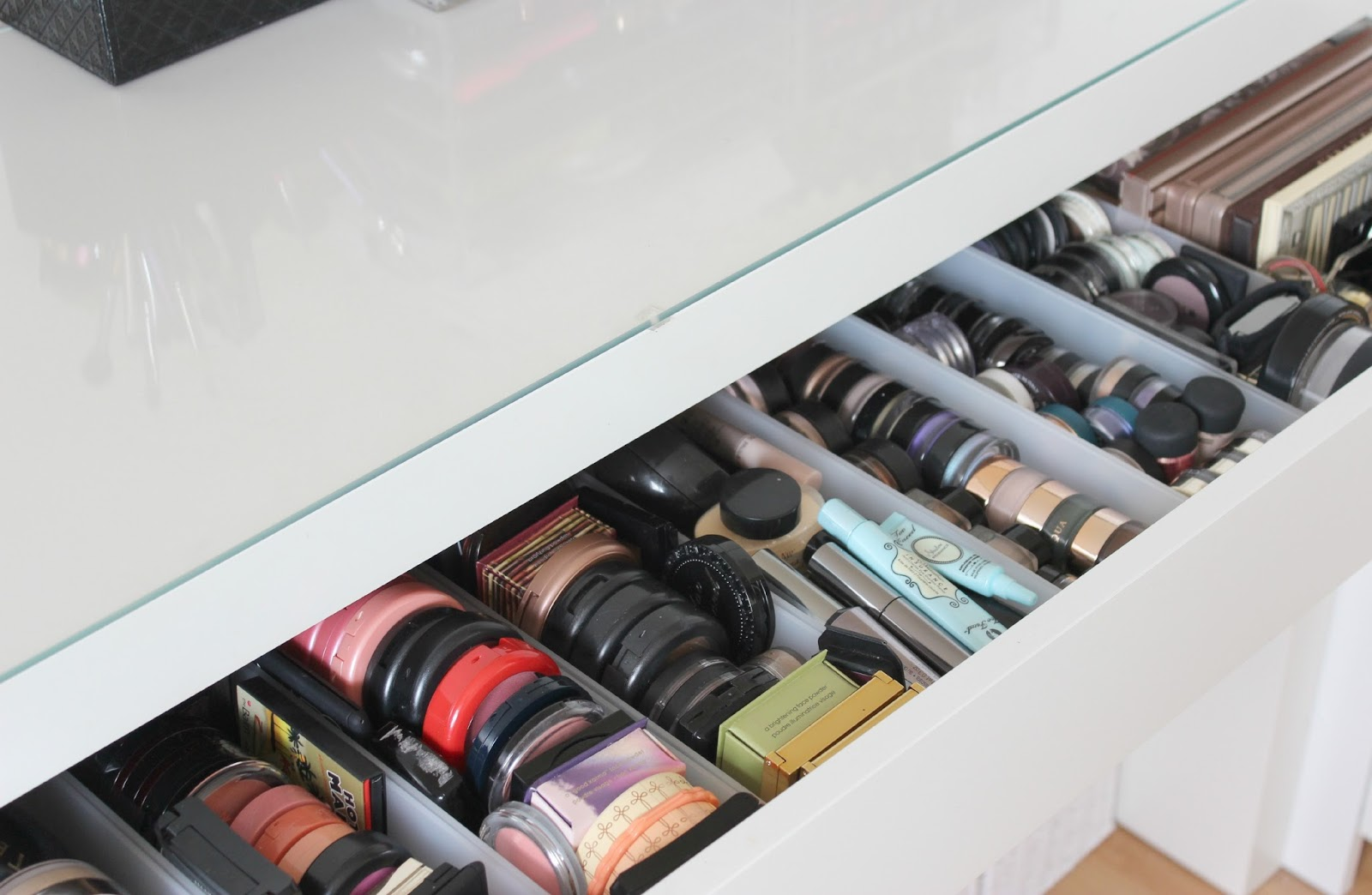 A picture of a dressing table drawer
