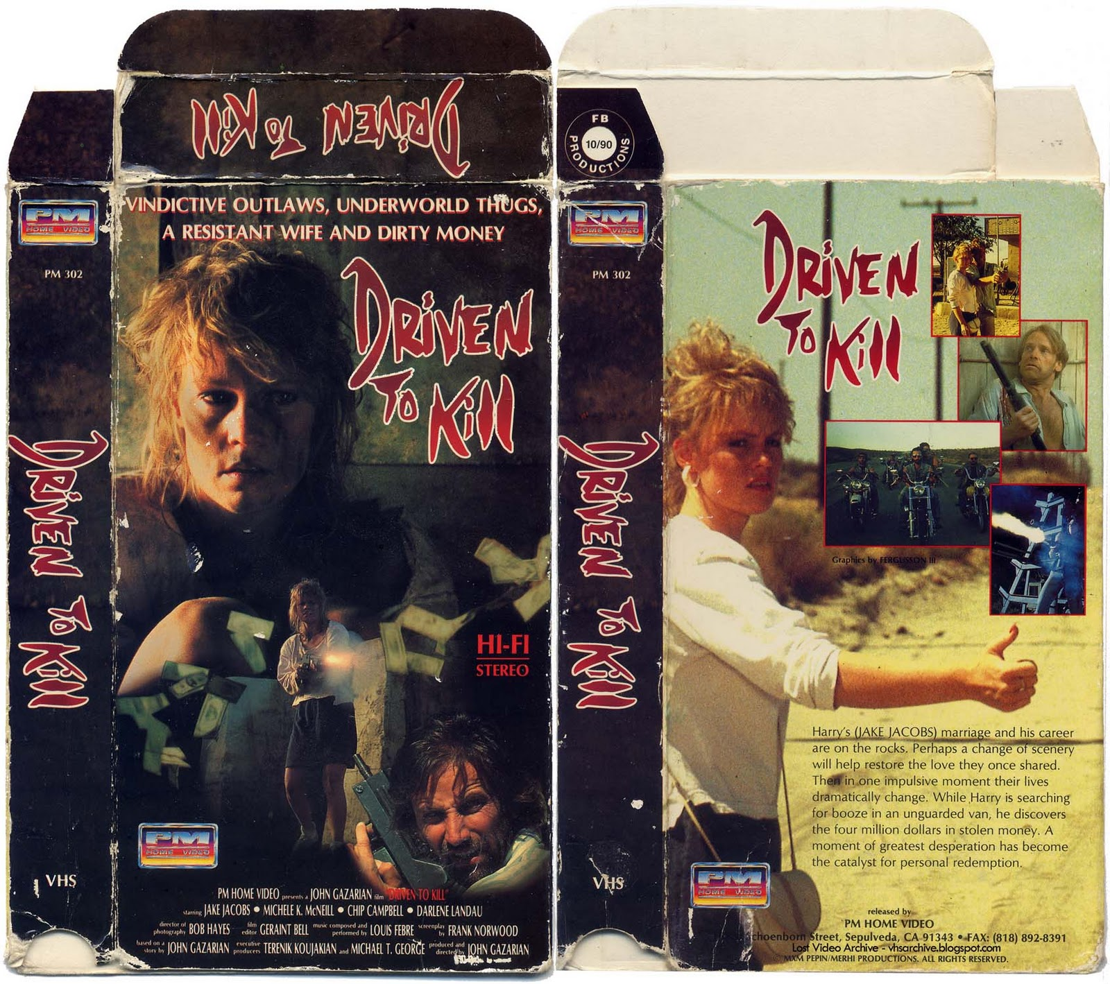 Once Driven Reviews >> Comeuppance Reviews Driven To Kill 1991