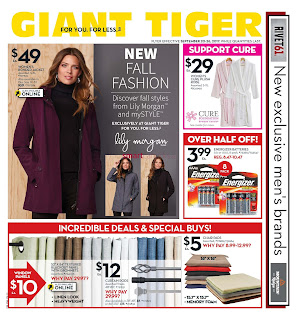 Giant Tiger Lower Price Flyer valid September 20 - 26, 2017