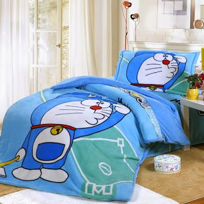 dekorasi kamar tidur doraemon terbaru