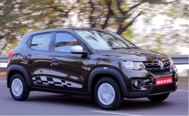 Renault Kwid 1.0 RXT AMT Launched Price In India