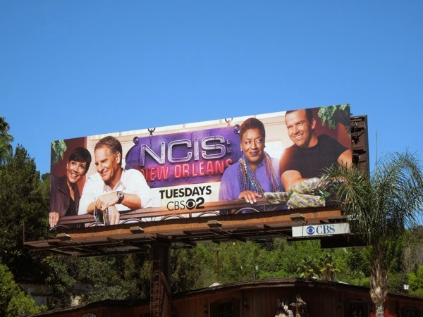 NCIS: New Orleans season 1 billboard