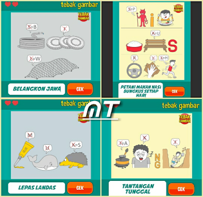 Jawaban tebak gambar level 65 nomor 9-12