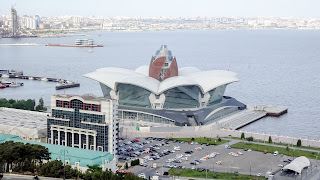 Baku was the host and has now a new building