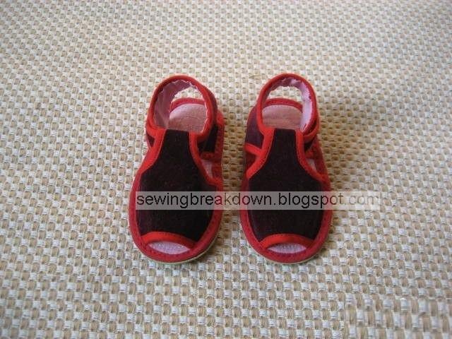 70b6bb052d81f خطوات خياطة وتفصيل حذاء للاطفال بالصور خطوة بخطوة