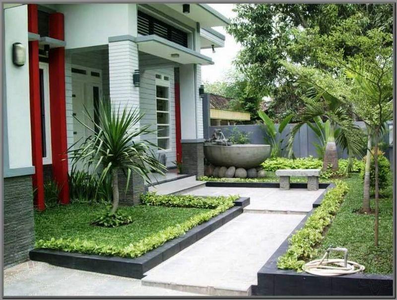 Gambar Teras Rumah Minimalis Modern
