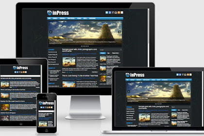 Free Download Inpress Blogger Template