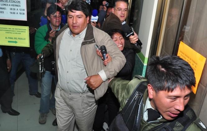 Patana benefició a dirigentes sociales con movilidades donadas por el Ministerio de la Presidencia / ARCHIVO ANF
