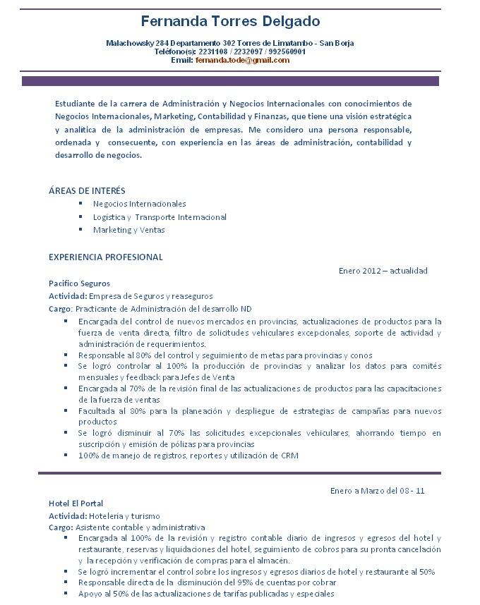 Desarrollo Personal 5 Cv Documentado