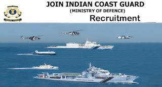 Indian Coast Guard Navik GD Recruitment 10+2 Entry 01/2018 Batch