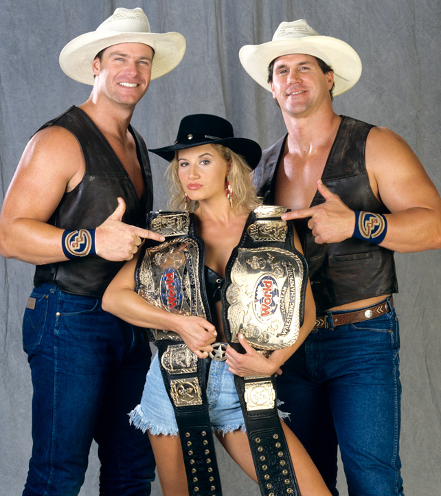 WWE - 28 Great WWF In Your House Matches - Sunny and The Smoking Gunns