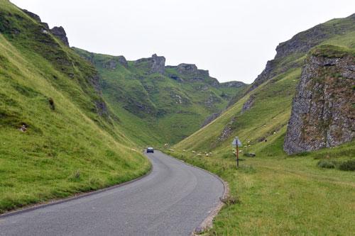 Winnats Pass, Derbyshire, UK