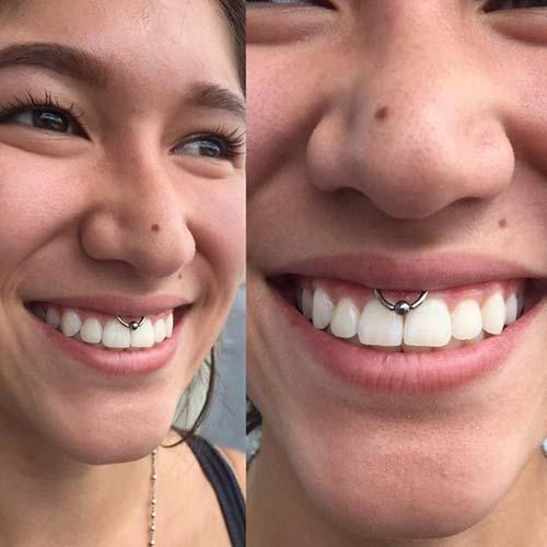 smiley piercing halka toplu