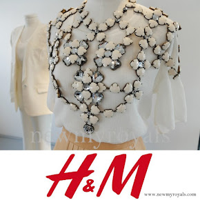 Crown Princess Victoria style H&M Conscious Exclusive Body Jewel