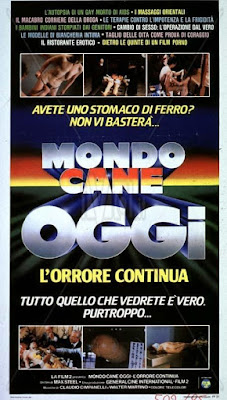 Mondo cane oggi - L'orrore continua / Savage World Today. 1985. DVD.