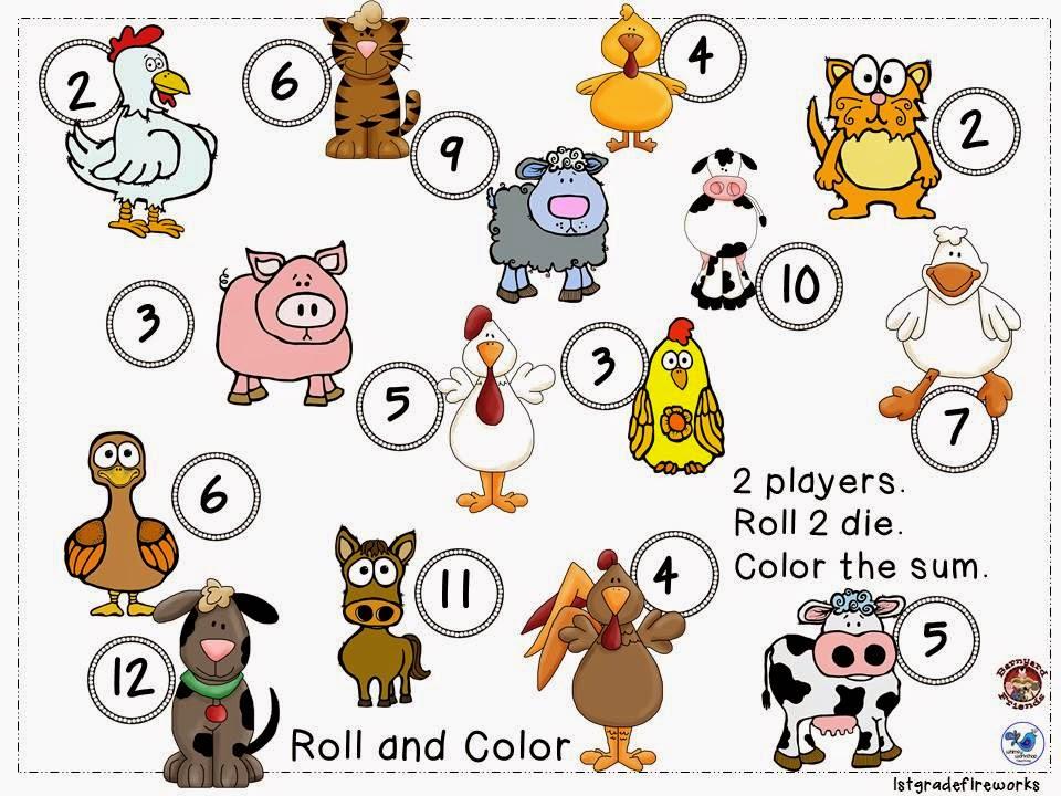 FREEBIE math game..You NEED DICE!