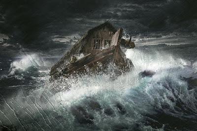 Il racconto biblico del Diluvio universale.