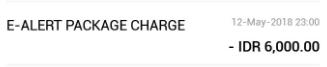 Tabunganku CIMB Niaga ternyata ada biaya bulanan