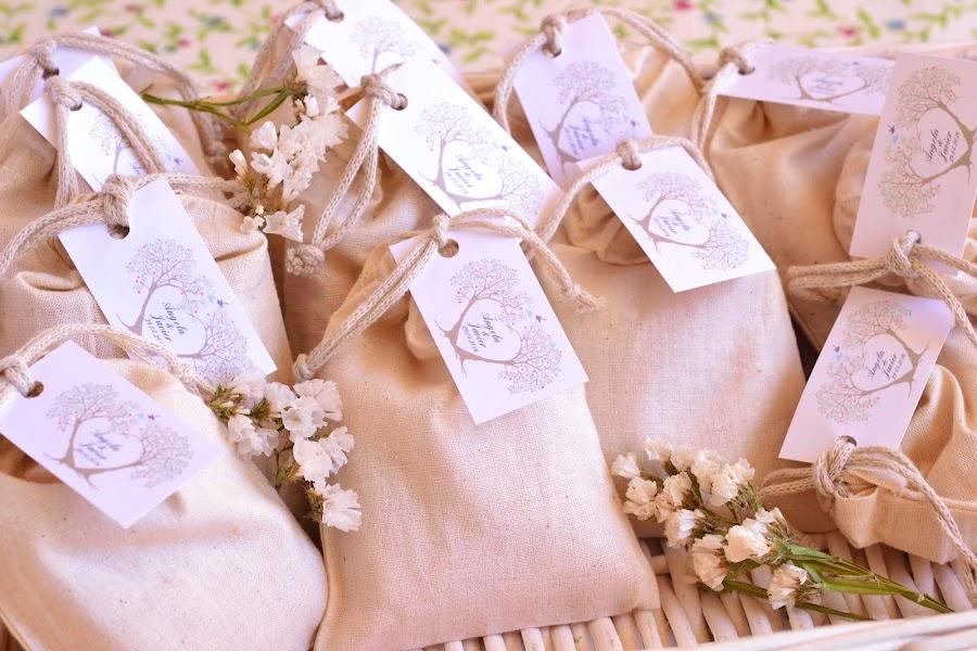 Saquitos aromaticos detalles personalizados para bodas