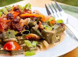 resep tumis cumi dengan bakso ikan