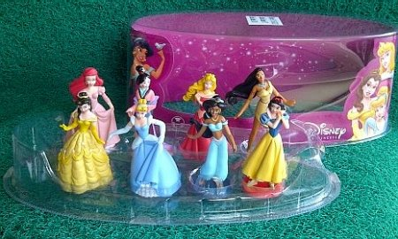 Dunia Mainan Anakku  Original Disney Princess Figures b24496cf66