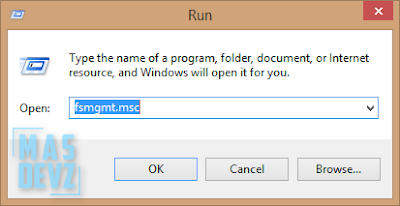 Cara Memeriksa File dan Folder Yang Sedang di Sharing - Mas Devz