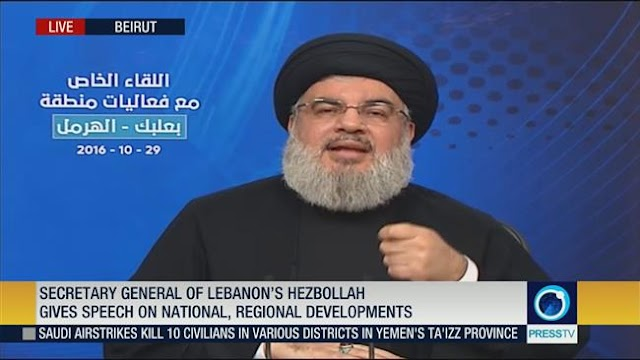 Hezbollah prevented Lebanon from plunging into crisis in the Middle East: Sayyed Hassan Nasrallah