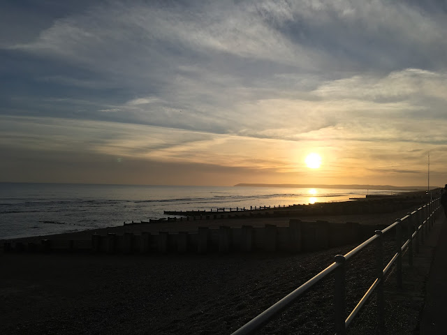 bexhill sunset