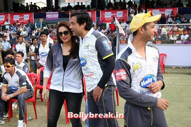 Bobby Deol, Huma Qureshi and Vatsal Seth, CCL4 Hot Images of Actresses