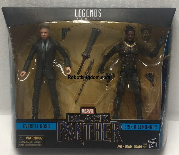 NEW Packaged Images Of The Marvel Legends 6\