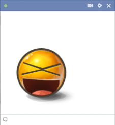 XD emoticon for Facebook