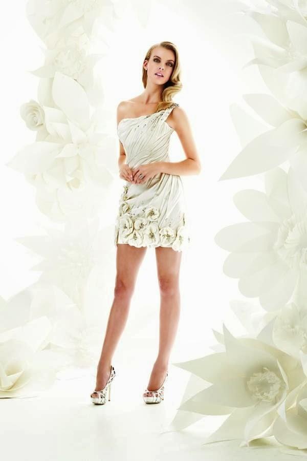 hermosos vestidos de novia cortos para boda civil | vestidos | moda
