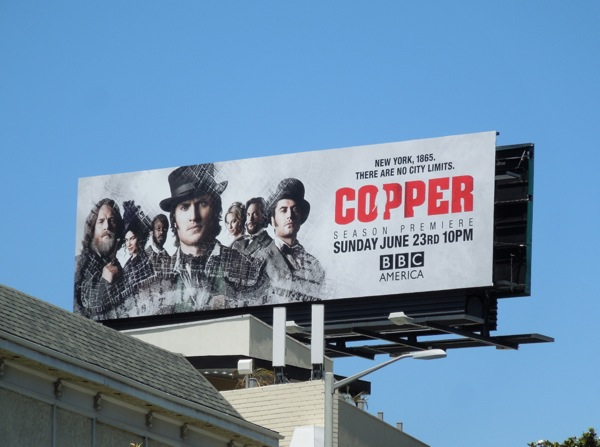 Copper season 2 billboard