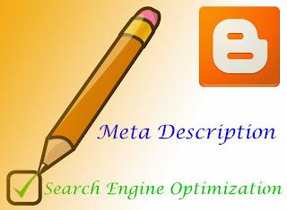Memasang Meta Description di Blogger