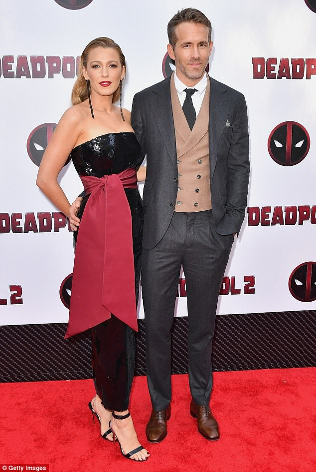 Blake Lively and Ryan Reynolds stun at the Deadpool 2 NY Premiere