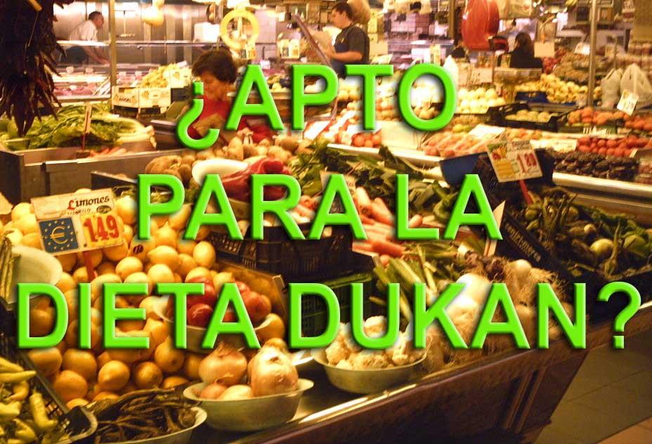 alimentos aptos para la dieta dukan