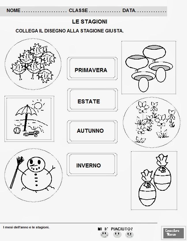 Eccezionale Teacher Maia- Il blog della maestra Maia: Schede didattiche classe  ZZ97