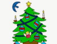 Abeto navideño virtual