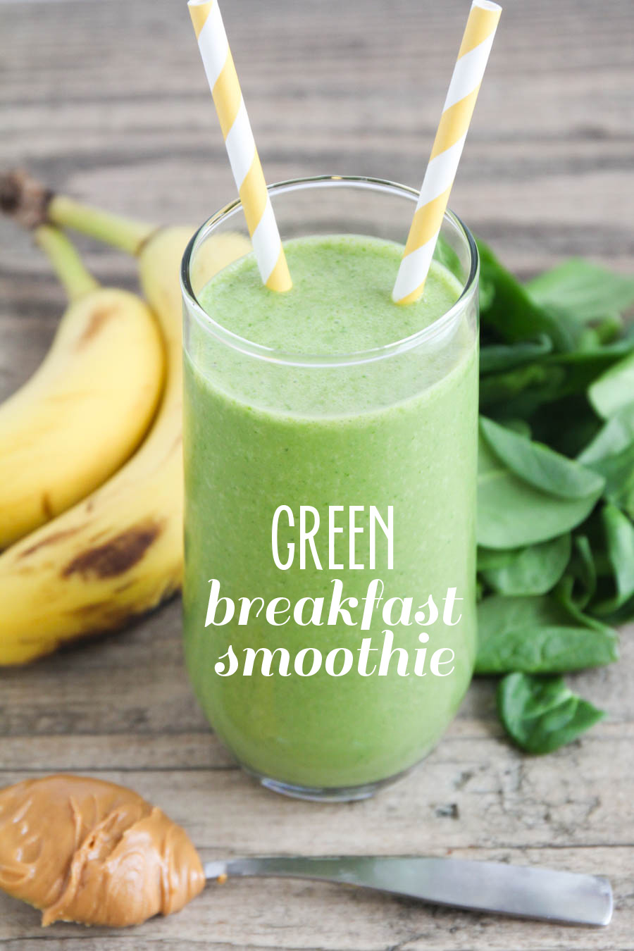 The Baker Upstairs Green Breakfast Smoothie
