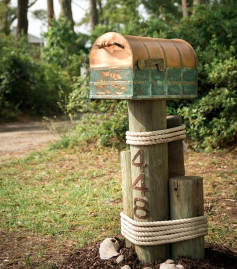 DIY network coastal home mailbox
