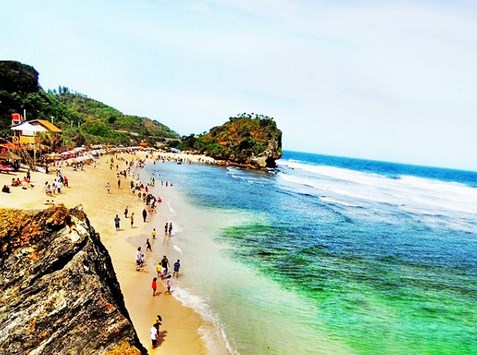 Pantai Siung Gunung Kidul Yogyakarta