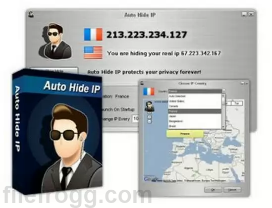 Auto Hide IP Full Crack