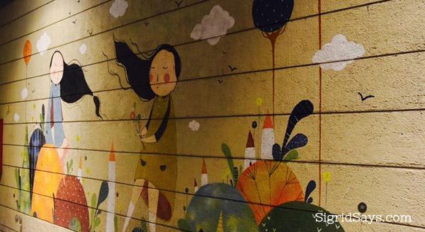 Instagrammable walls