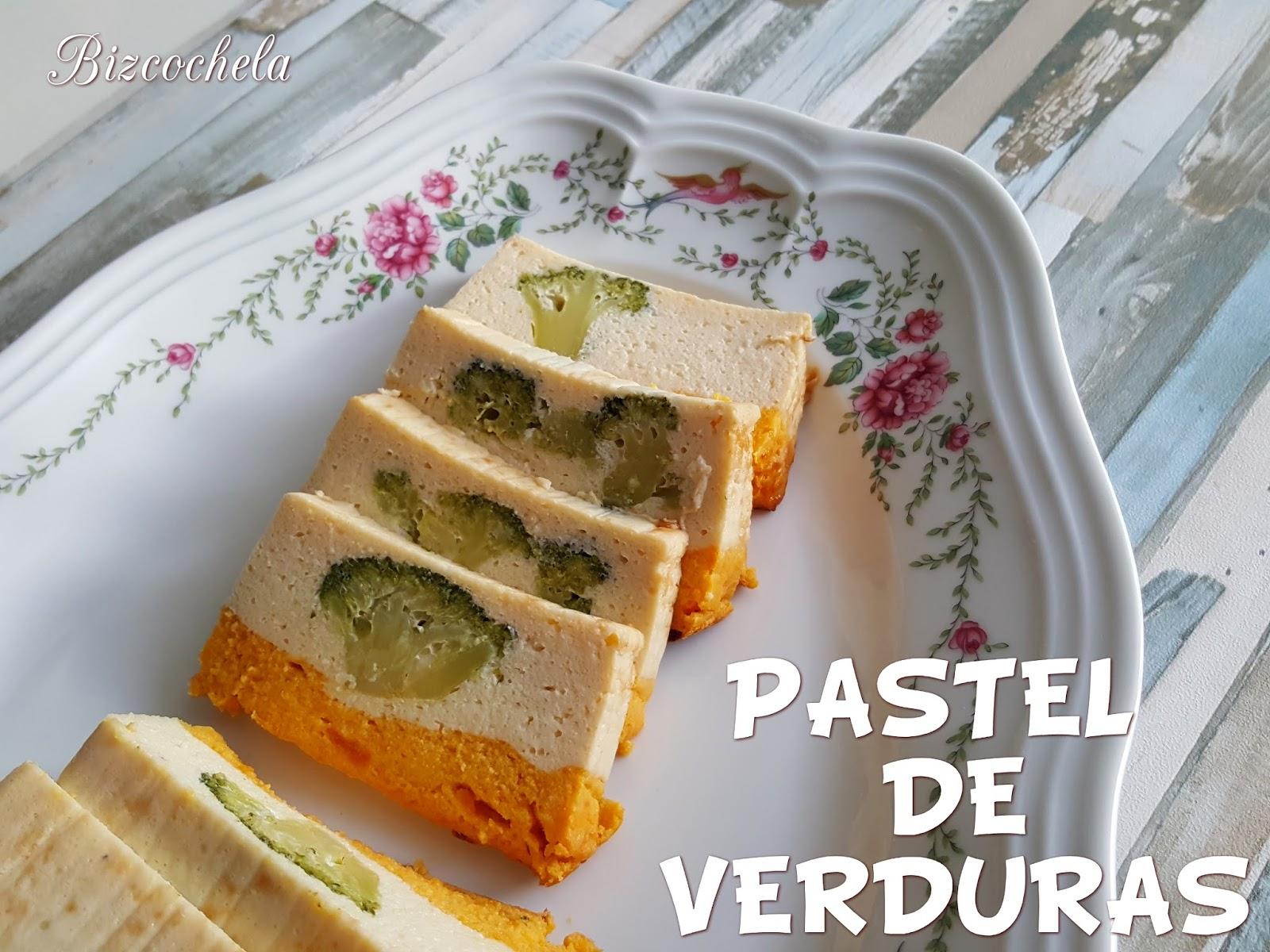 Pastel de verduras coliflor br coli y zanahoria - Cocinar verduras para dieta ...