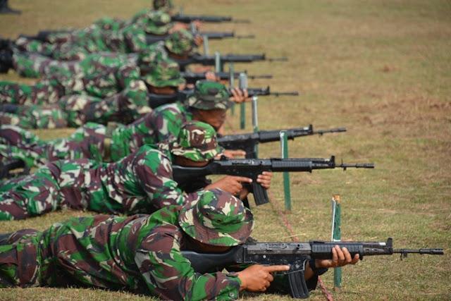 Tingkatkan Kecakapan Menembak, Korem 044/Gapo Gelar Latihan Menembak