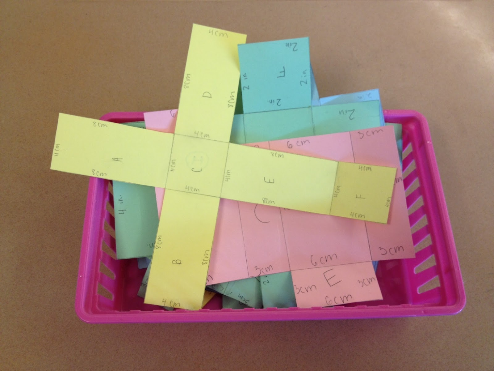 Middle School Math Rules Hands On Surface Area Of Prisms