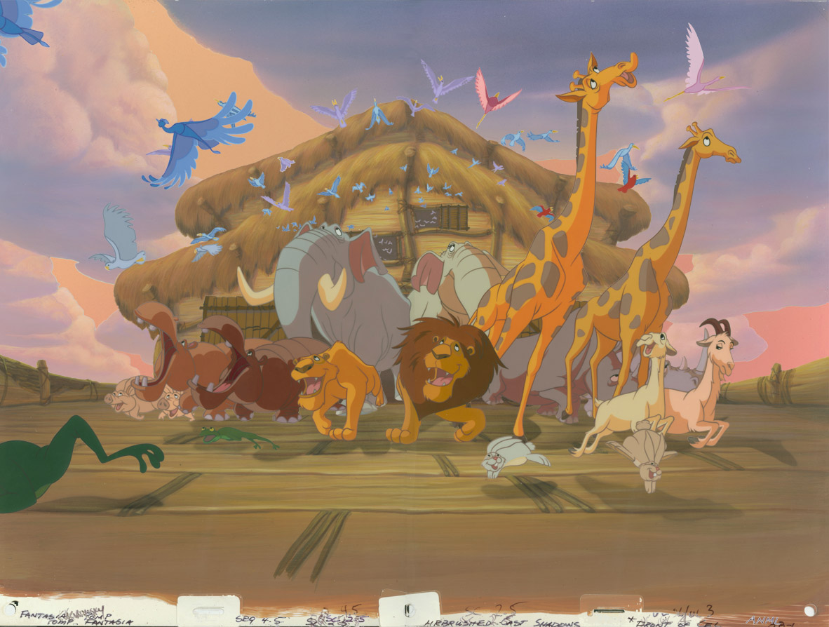 Drawn To Animation Noah S Ark And Animals